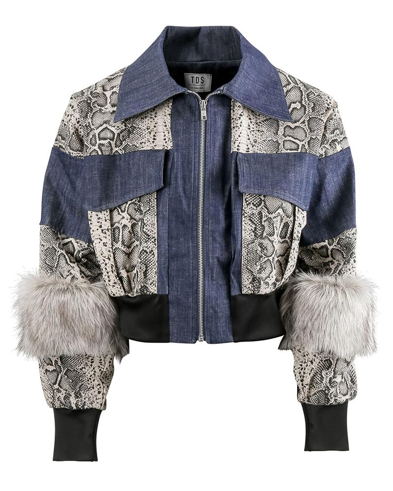 Handmade Women's Denim Jacket