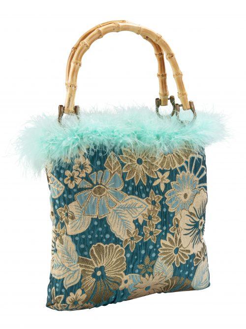 AYRIA Blue Floral Tote Bag | TDS