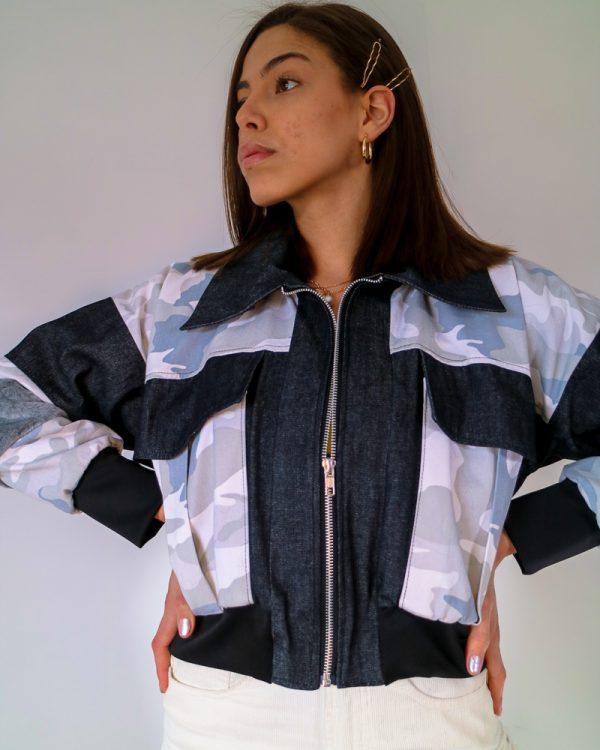 Ice Camo Denim Jacket | TDS