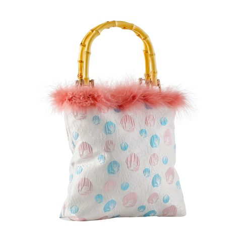 LUNA Pink Feather Tote Bag | TDS