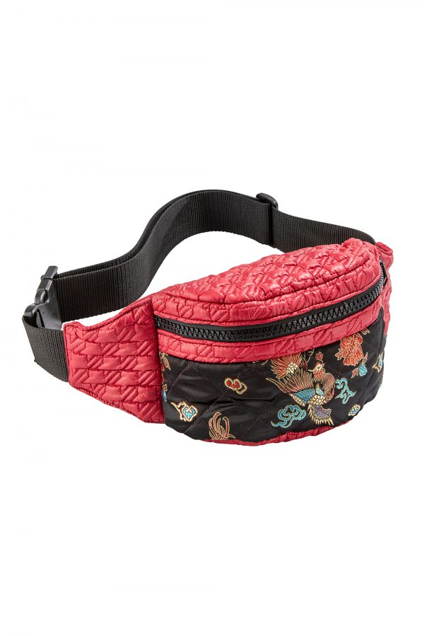 RAI Red Oriental Bum Bag | TDS