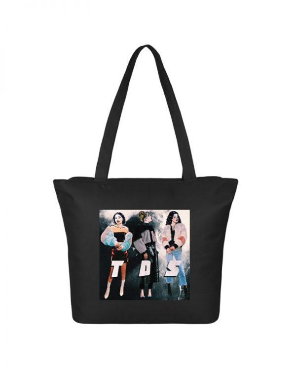 TDS Black Tote Bag