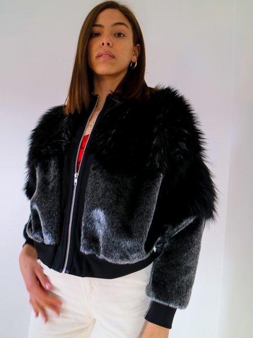 TDS Faux Fur Jacket