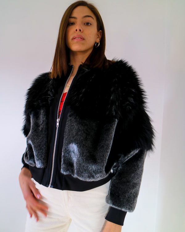TDS Faux Fur Jacket