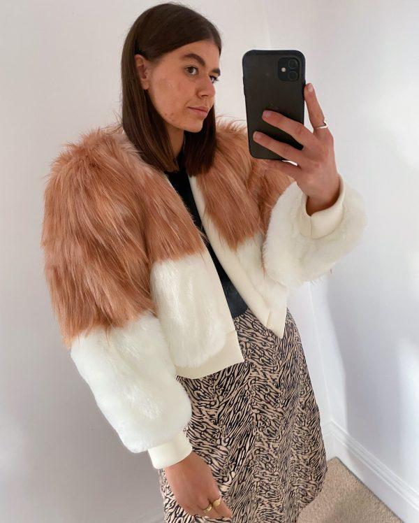 Faux Fur Jacket 8