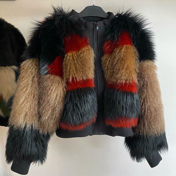 High quality faux fur Jacket