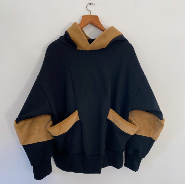 Blue And Brown Sweat Shirt 1