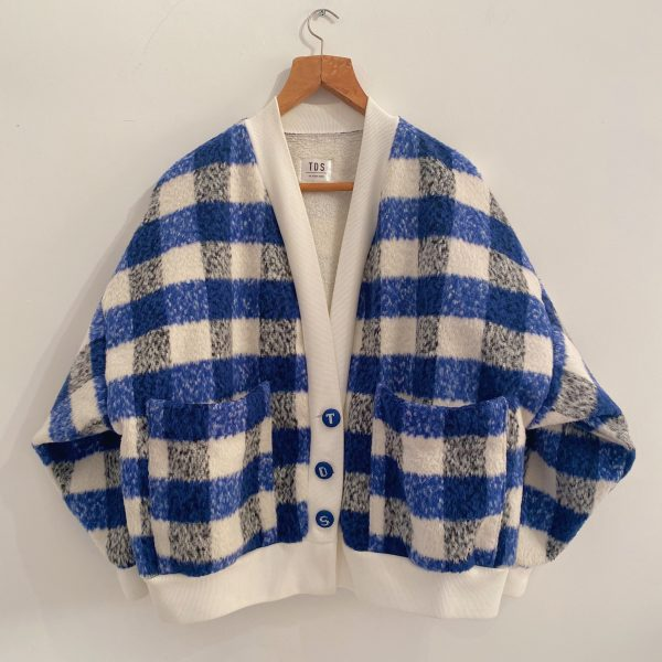 Blue And White Cardigan For Women 2